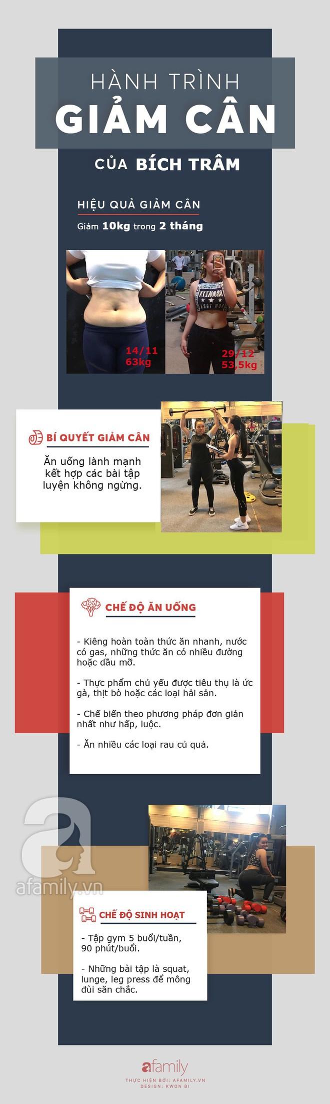 Giảm 10kg chỉ sau 2 tháng tập gym theo hướng dẫn của huấn luyện viên, cô gái trẻ sở hữu thân hình nuột nà, tự tin đón Tết - ảnh 11