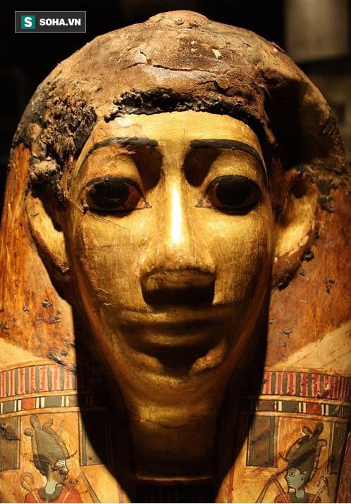 Giải mã bí mật trong quan tài chứa xác ướp thời Ai Cập cổ đại nhờ công nghệ mới của Anh - Ảnh 1.