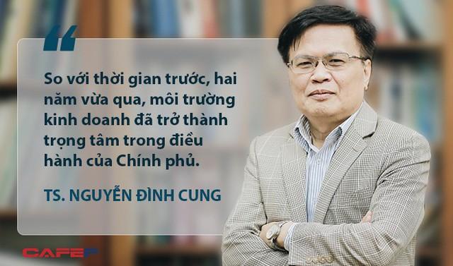 """TS. Nguyễn Đình Cung: Dư địa tăng trưởng GDP của Việt Nam vào khoảng 8-9%, nếu làm tốt, nguồn lực sẽ """"tự nhiên chảy về như suối đổ ra biển lớn""""  - Ảnh 1."""