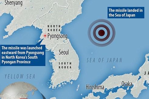 Triều Tiên tiến bộ vượt bậc về công nghệ tên lửa đạn đạo trong 2017 - Ảnh 1.