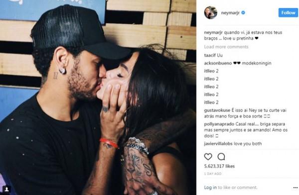 Lộ cảnh nóng ngoài biển, Neymar và nữ diễn viên Bruna chính thức tái duyên - Ảnh 1.