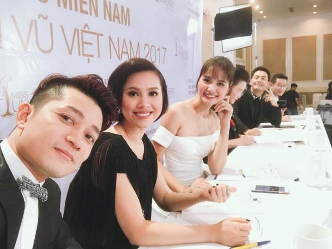 Lý do gì Á hậu Hoàng My không tiếp tục làm giám khảo trong đêm chung kết Hoa hậu Hoàn vũ 2017? - Ảnh 1.