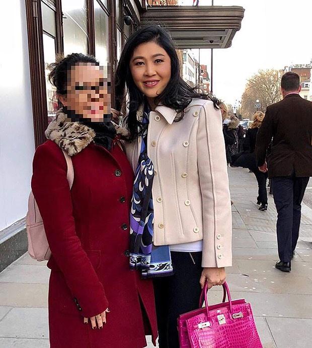 Thêm hình ảnh rõ nét khẳng định bà Yingluck đang ở Anh - Ảnh 1.