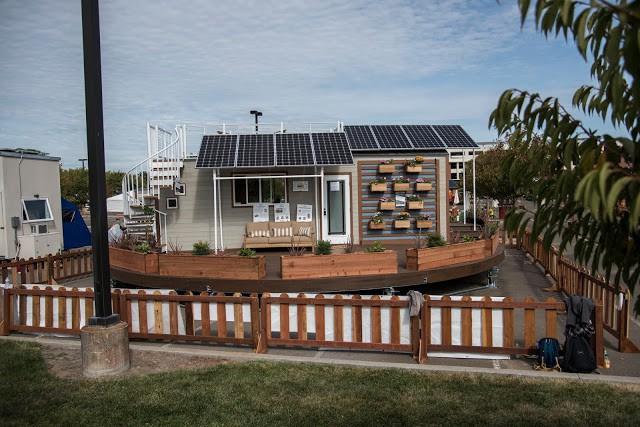 Cận cảnh ngôi nhà 22m2 có thể tự xoay để đón nắng - Ảnh 2.