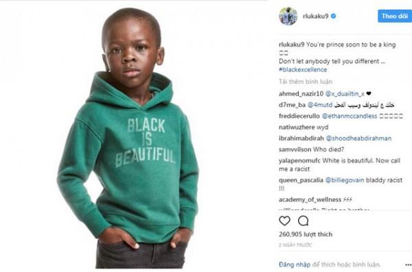 Hãng thời trang H&M quảng cáo 'bẩn', Lukaku lên tiếng đáp trả khiến dư luận phát 'sốt' - Ảnh 2.