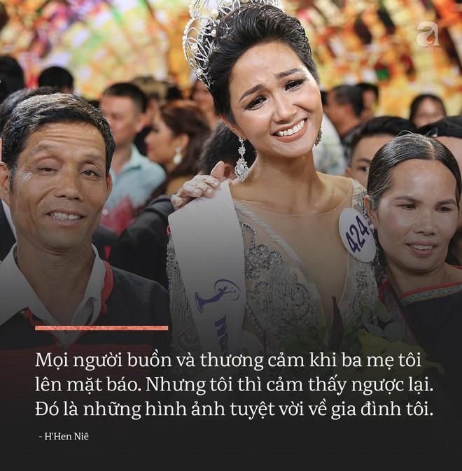 Không phải tấm gương về sự nghèo khó, đây mới là điều tuyệt vời nhất ở Hoa hậu HHen Niê - Ảnh 3.
