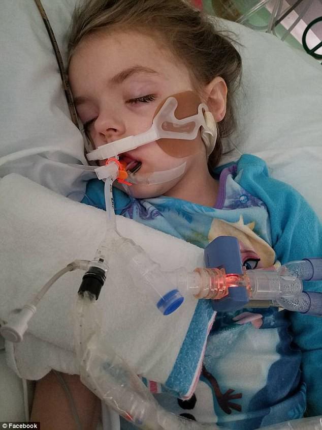 Cô bé Braylynn Lawhon - 5 tuổi - được chẩn đoán mắc bệnh Glioma Pontine gây kích thích nội tạng - là dạng ung thư não nguy hiểm nhất - vào ngày 6 tháng 12 vừa qua.