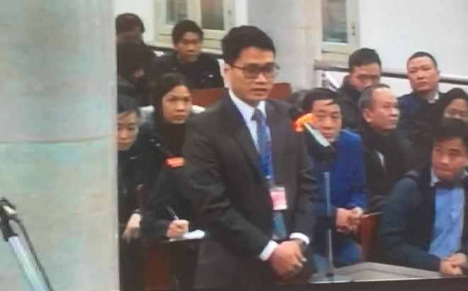 Điều tra viên Bộ Công an xuất hiện tại phiên tòa xử Trịnh Xuân Thanh theo luật mới - Ảnh 1.