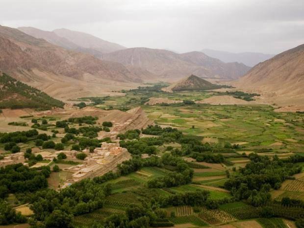 Vùng Azilal, nơi người vợ được chôn cất.