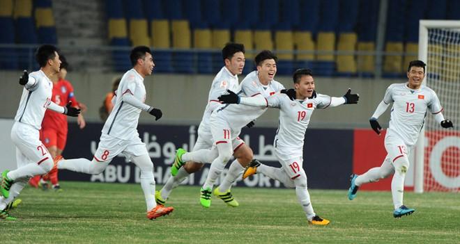 Bầu Hiển nói gì khi 'gà cưng' Quang Hải phá lưới U.23 Hàn Quốc - Ảnh 1.