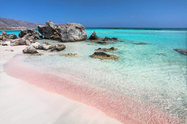 Ngắm nhìn vẻ đẹp thơ mộng của những bãi biển cát hồng đẹp nhất thế giới - Ảnh 2.