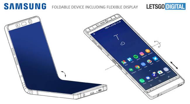 Rò rỉ thiết kế của Galaxy X: Màn hình 7,3 inch, gập đôi lại được như ví - Ảnh 1.