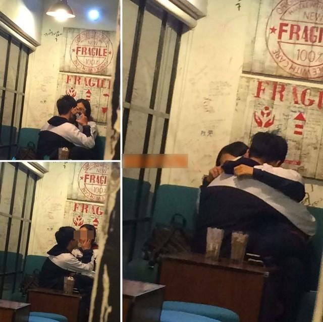Clip: Cặp đôi thản nhiên thể hiện tình cảm nồng thắm giữa quán cà phê khiến nhiều người ngại ngùng - Ảnh 3.