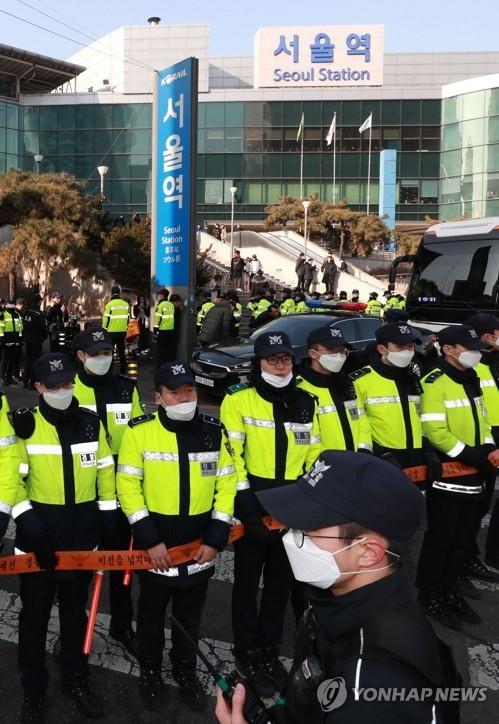 Đoàn tiền trạm Triều Tiên đã tới Hàn Quốc, người đẹp quyền lực dẫn đầu đoàn - ảnh 3