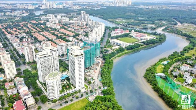 Toàn cảnh khu đô thị hiện đại bậc nhất Sài Gòn với hàng chục nghìn căn nhà cao cấp đang ùn ùn mọc lên - Ảnh 13.