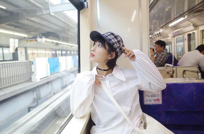 Nữ sinh Trung Quốc được cư dân mạng ca ngợi vì nhan sắc đỉnh cao, trông giống hệt ngọc nữ số 1 Nhật Bản - Ảnh 16.