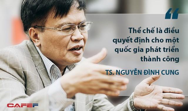 """TS. Nguyễn Đình Cung: Dư địa tăng trưởng GDP của Việt Nam vào khoảng 8-9%, nếu làm tốt, nguồn lực sẽ """"tự nhiên chảy về như suối đổ ra biển lớn""""  - Ảnh 3."""