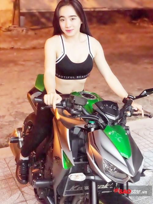 Giấc mơ tuổi 23 của hot girl đi mô tô khủng được dân cư mạng truy lùng - Ảnh 3.