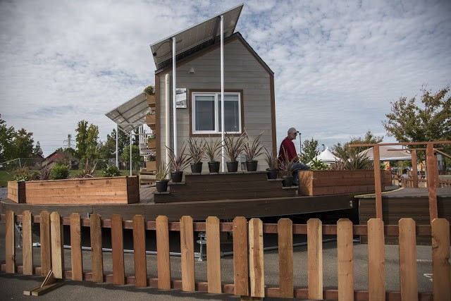 Cận cảnh ngôi nhà 22m2 có thể tự xoay để đón nắng - Ảnh 3.