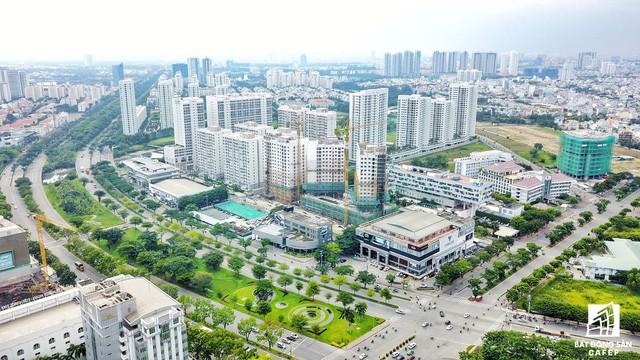Toàn cảnh khu đô thị hiện đại bậc nhất Sài Gòn với hàng chục nghìn căn nhà cao cấp đang ùn ùn mọc lên - Ảnh 4.
