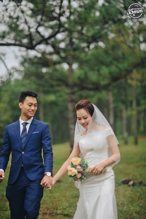 Không lầy lội, ảnh cưới của Nhật Anh Trắng và vợ lại lãng mạn như thế này đây! - Ảnh 21.