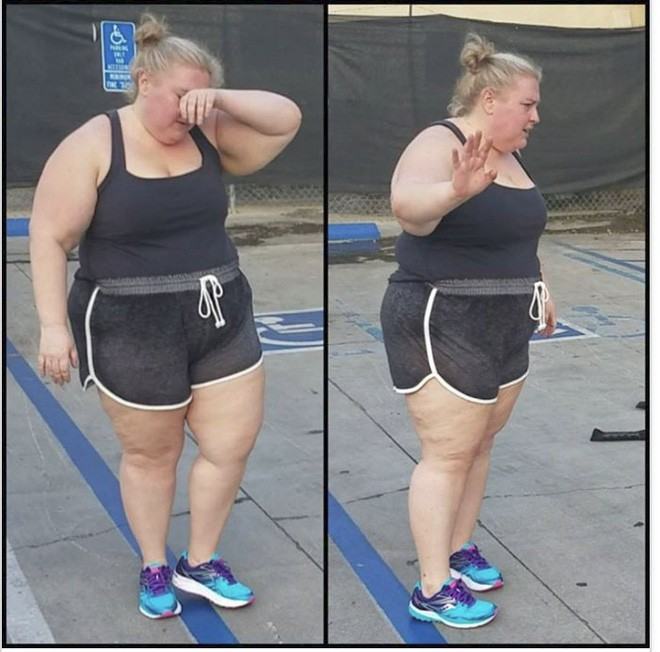 Đừng chỉ cố giảm cân bằng cách nhìn vào số cân nặng mà hãy thử làm như người phụ nữ 163kg này - Ảnh 3.