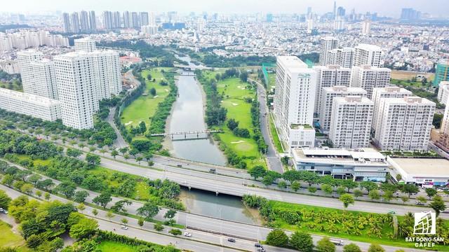 Toàn cảnh khu đô thị hiện đại bậc nhất Sài Gòn với hàng chục nghìn căn nhà cao cấp đang ùn ùn mọc lên - Ảnh 5.