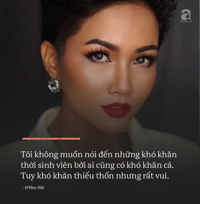 Không phải tấm gương về sự nghèo khó, đây mới là điều tuyệt vời nhất ở Hoa hậu HHen Niê - Ảnh 5.