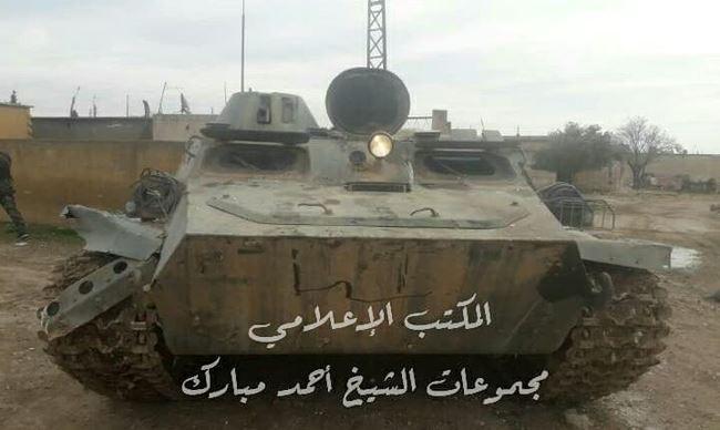 Quân đội Syria đập tan phiến quân tấn công ở Hama, 4 thủ lĩnh khủng bố mất mạng - Ảnh 4.