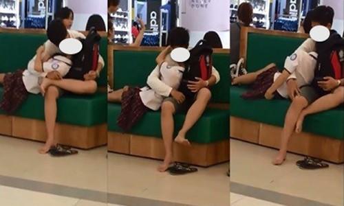 Clip: Cặp đôi thản nhiên thể hiện tình cảm nồng thắm giữa quán cà phê khiến nhiều người ngại ngùng - Ảnh 5.