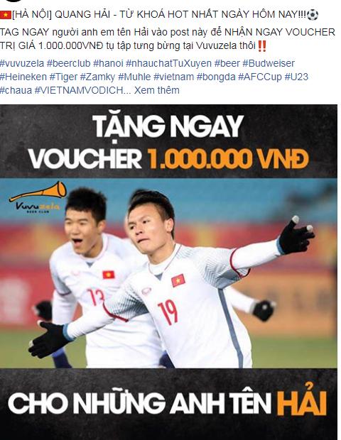 Nhiều cửa hàng chơi lớn khi free toàn bộ ăn mừng chiến thắng U23 Việt Nam  - Ảnh 4.