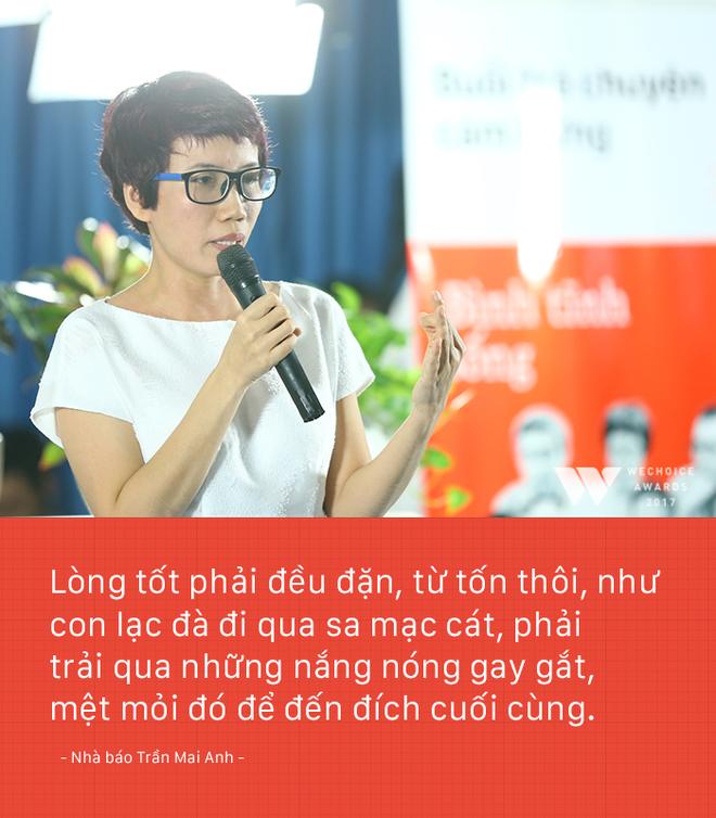 Nhà báo Trần Mai Anh: Tôi và Thiện Nhân phải tiết kiệm nước mắt, nỗi đau. Bởi không ai khổ giùm mình cả - Ảnh 6.