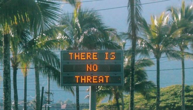 Nhận được tin nhắn cảnh báo tên lửa, dân Hawaii nháo nhào tìm nơi ẩn nấp và cái kết bất ngờ - Ảnh 7.