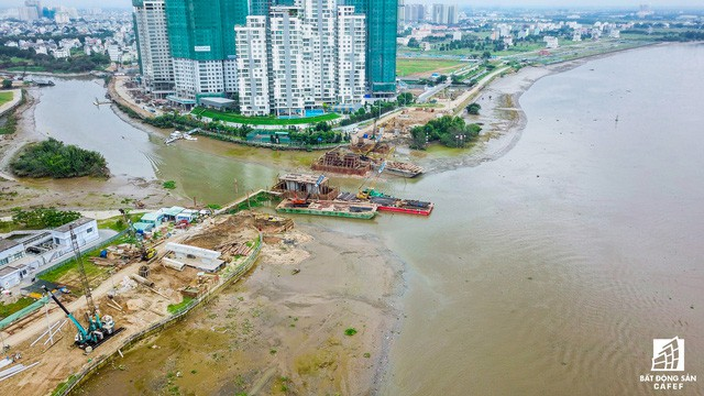 Cận cảnh cây cầu qua đảo Kim Cương đang khiến bất động sản quận 2 tăng giá - Ảnh 5.