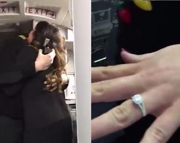 'Rụng tim' trước màn cầu hôn của chàng phi công nhút nhát ngay trên máy bay - Ảnh 6.