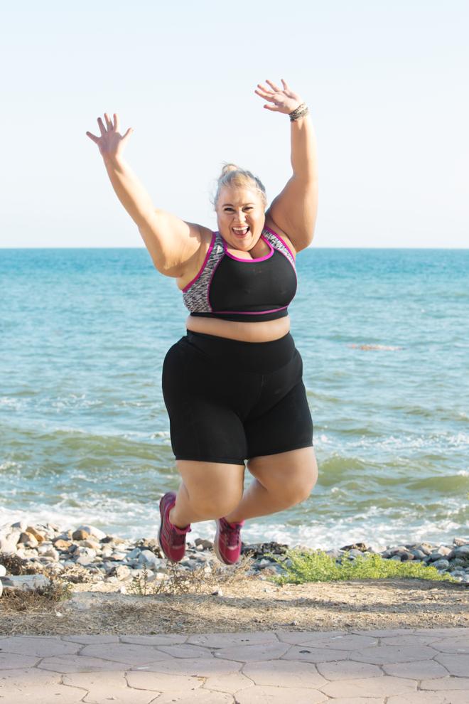 Đừng chỉ cố giảm cân bằng cách nhìn vào số cân nặng mà hãy thử làm như người phụ nữ 163kg này - Ảnh 5.