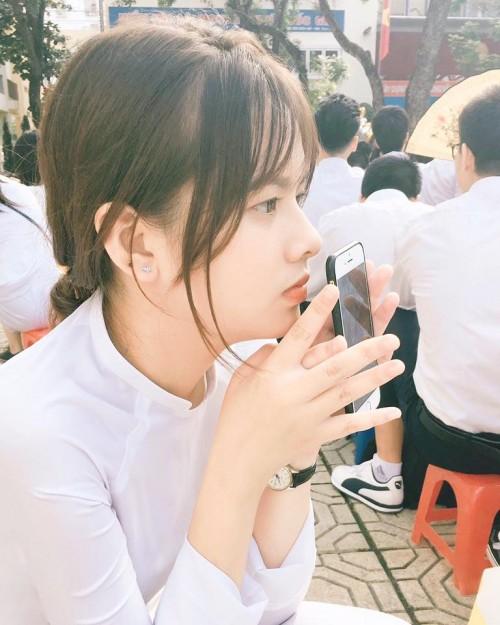 Lại xuất hiện thêm một nữ sinh Hà Nội sở hữu vẻ đẹp lai Tây khó rời mắt! - ảnh 6