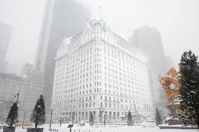 New York như hành tinh khác trong trận bão tuyết khiến nước Mỹ lạnh hơn sao Hỏa - Ảnh 7.