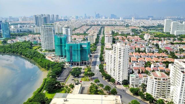 Toàn cảnh khu đô thị hiện đại bậc nhất Sài Gòn với hàng chục nghìn căn nhà cao cấp đang ùn ùn mọc lên - Ảnh 9.