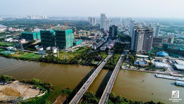 Toàn cảnh khu đô thị hiện đại bậc nhất Sài Gòn với hàng chục nghìn căn nhà cao cấp đang ùn ùn mọc lên - Ảnh 11.