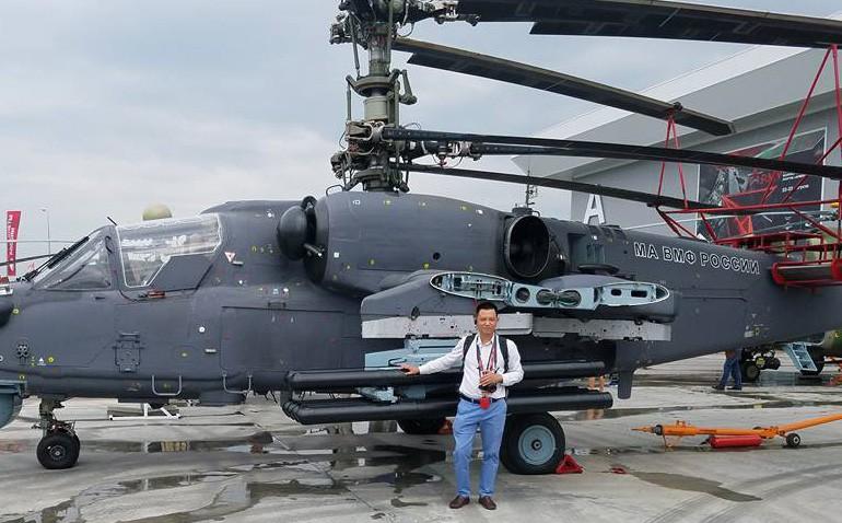 PV Việt Nam và cuộc gặp với chuyên gia Nga - người khuyên mua trực thăng tấn công Ka-52