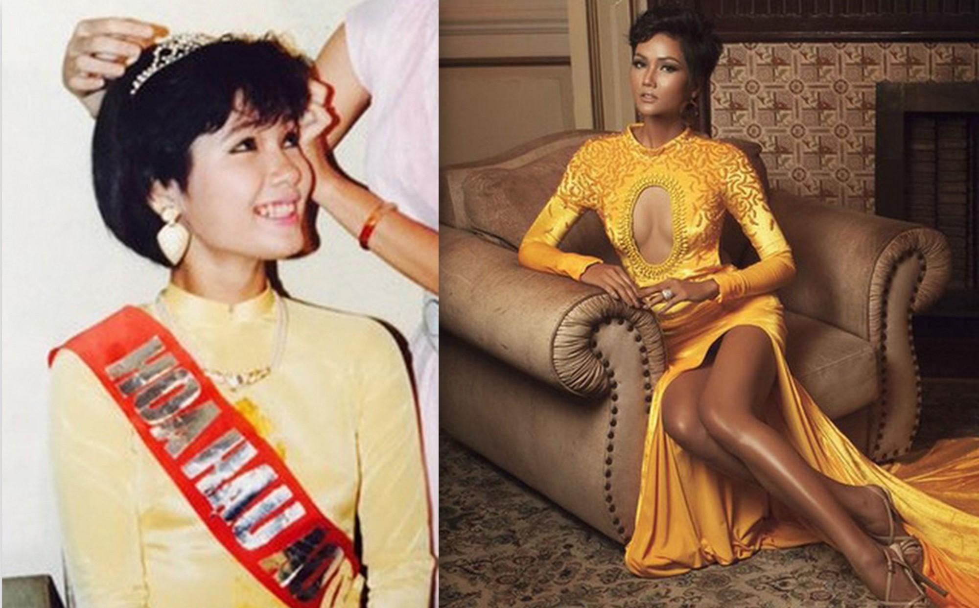 H'Hen Niê không đáng bị chê bai nhan sắc, 29 năm trước cũng có người đẹp Việt tóc tém là hoa hậu