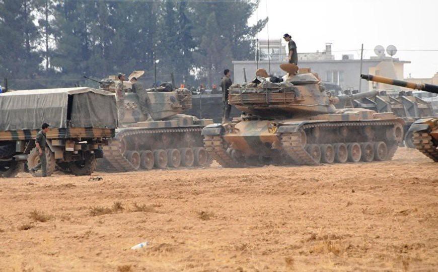 15.000 lính Thổ Nhĩ Kỳ đợi lệnh ở biên giới, sẵn sàng tràn sang Syria diệt đồng minh Mỹ