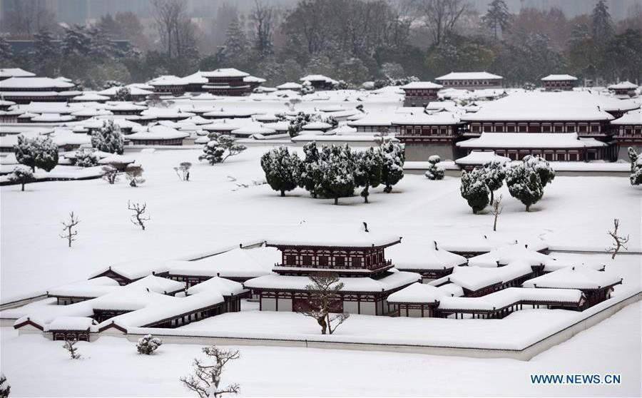 Mai phục 3 giờ bắt nghi phạm, tổ trinh sát Trung Quốc ngớ người vì bị bão tuyết