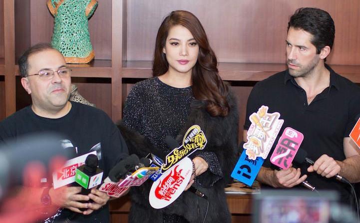 Trương Ngọc Ánh đóng phim cùng dàn sao đình đám quốc tế