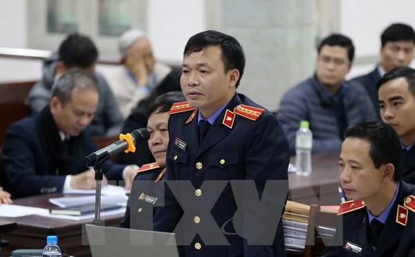 Xét xử ông Đinh La Thăng và đồng phạm: Kiểm sát viên