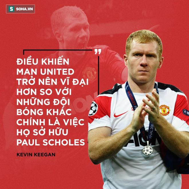Mạt sát Paul Scholes, Mourinho đâm nhát dao vào sâu thẳm trái tim Man United - Ảnh 2.
