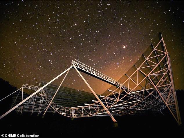 Đài quan sát thiên văn CHIME tại Canada