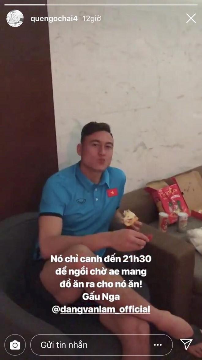 Văn Hậu tậu siêu xe đẳng cấp, Lâm tây bị mắng yêu vì lén lút ăn pizza - Ảnh 5.