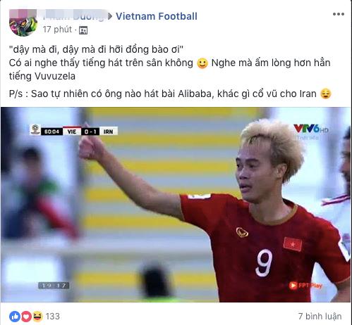 Dậy mà đi hỡi đồng bào ơi, câu hát được chia sẻ liên tục sau trận đấu giữa Việt Nam - Iran - ảnh 3